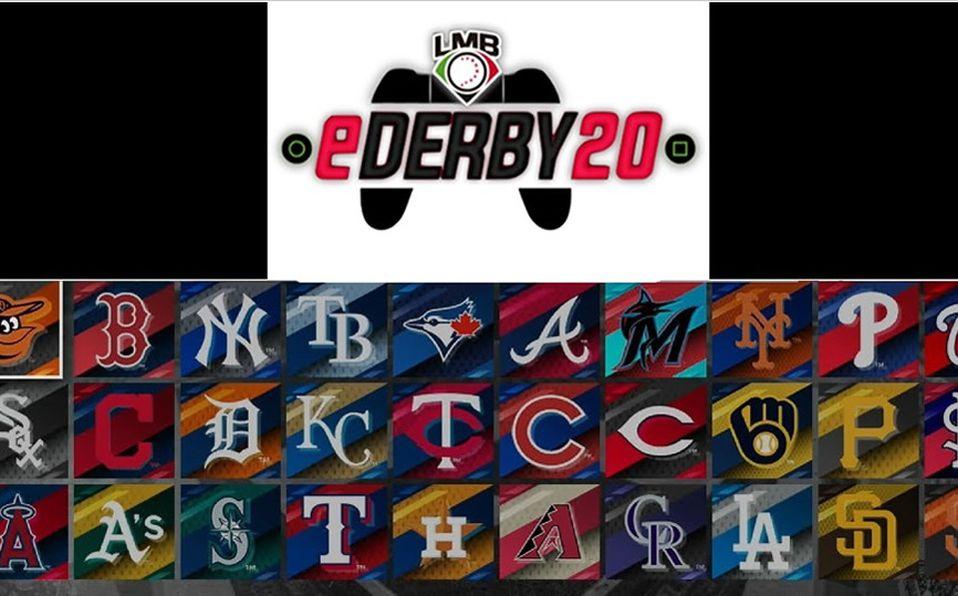Los equipos MLB (y los estadios) que se eligieron para el eDerby