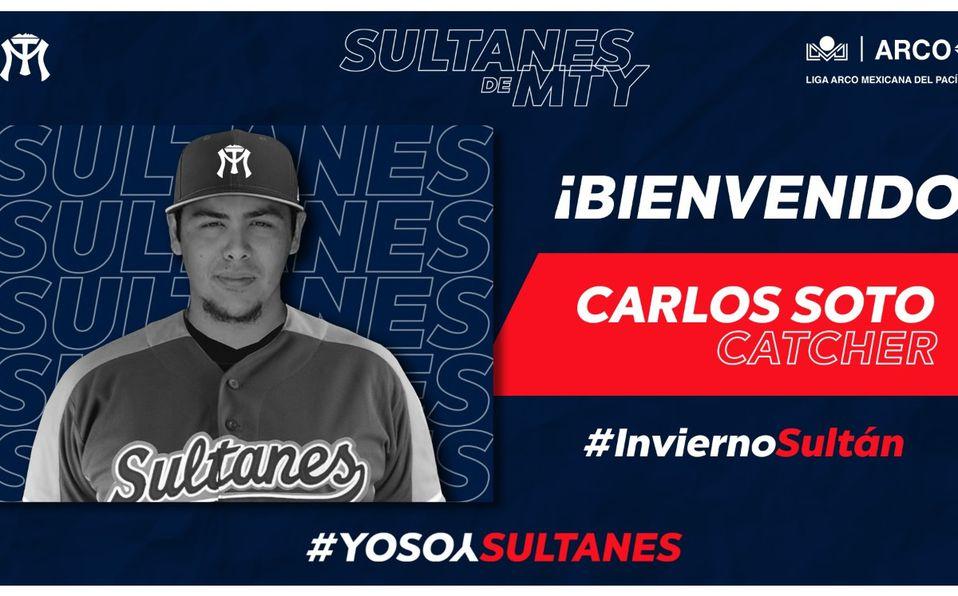 LMP: Sultanes se refuerza con Carlos Soto