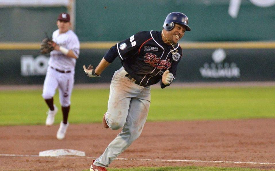 Davis fue campeón de bases robadas y triples en el segundo torneo de la LMB 2018. (Foto: @LaredosTecos)