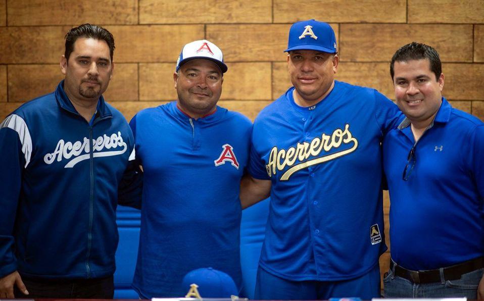 Colón firmó con los Acereros de la LMB para 2020. (Foto: @AcererosOficial)