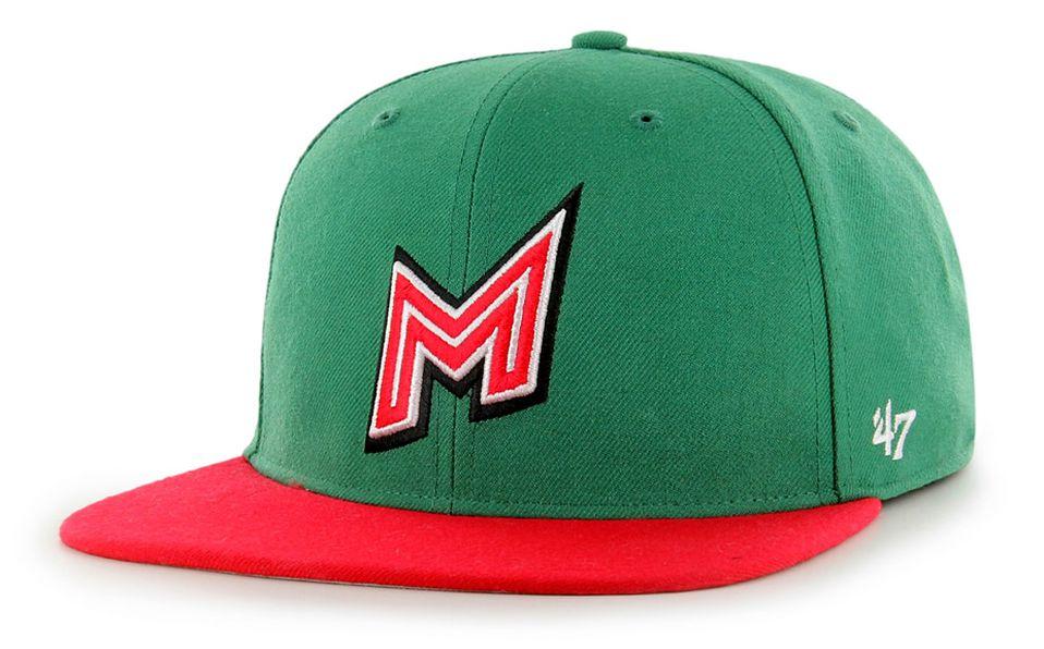 Gorra de juego que portará la selección mexicana