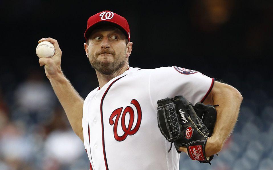 Max Scherzer puede presumir: ponchó en MLB a padre e hijo