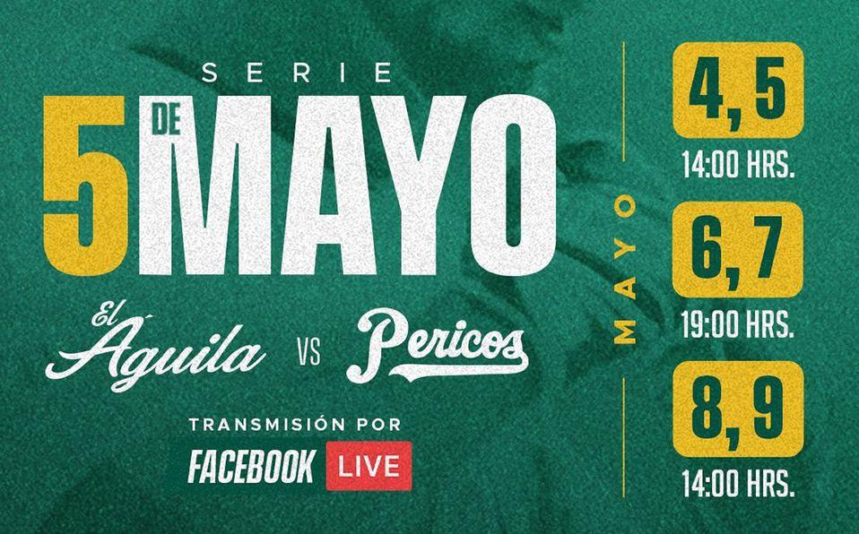 Estas son las fechas y horarios de la 'Serie 5 de Mayo'. Foto: Pericos