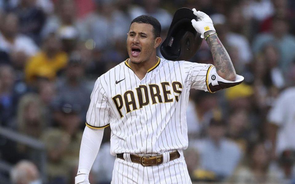 Manny Machado mostró su veteranía para contener la situación. (AP)