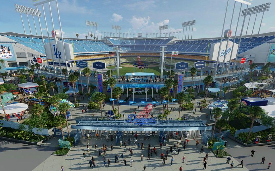 El estadio de los Dodgers fue inaugurado derante la temporada de 1962. (Foto: @SportsNetLA)