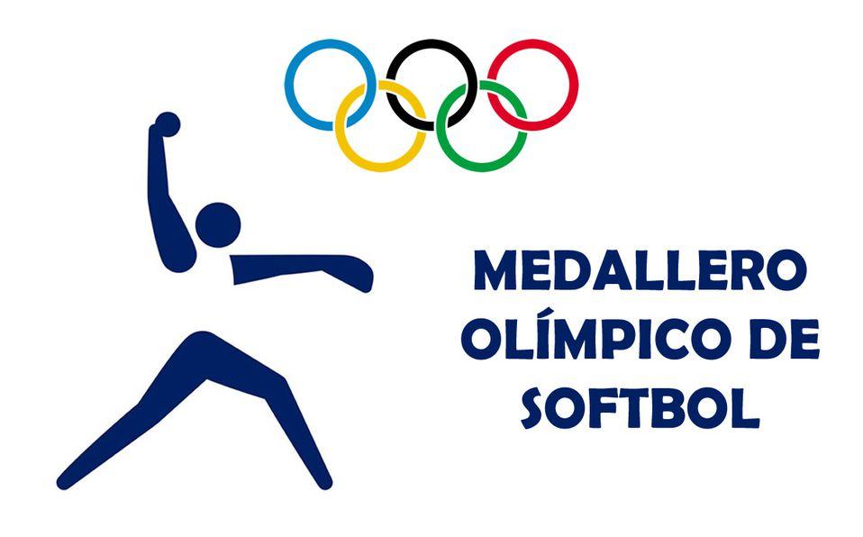 Softbol: Medallero de los Juegos Olímpicos