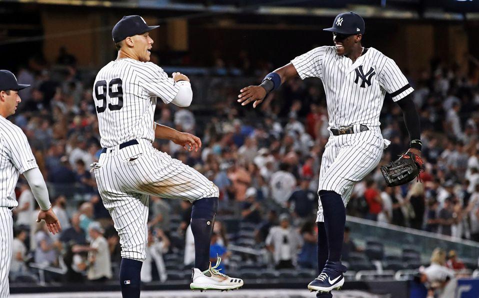 Los Yankees tienen marca de 10-4 sobre los Red Sox en lo que va de la campaña. (Foto: @Yankees)