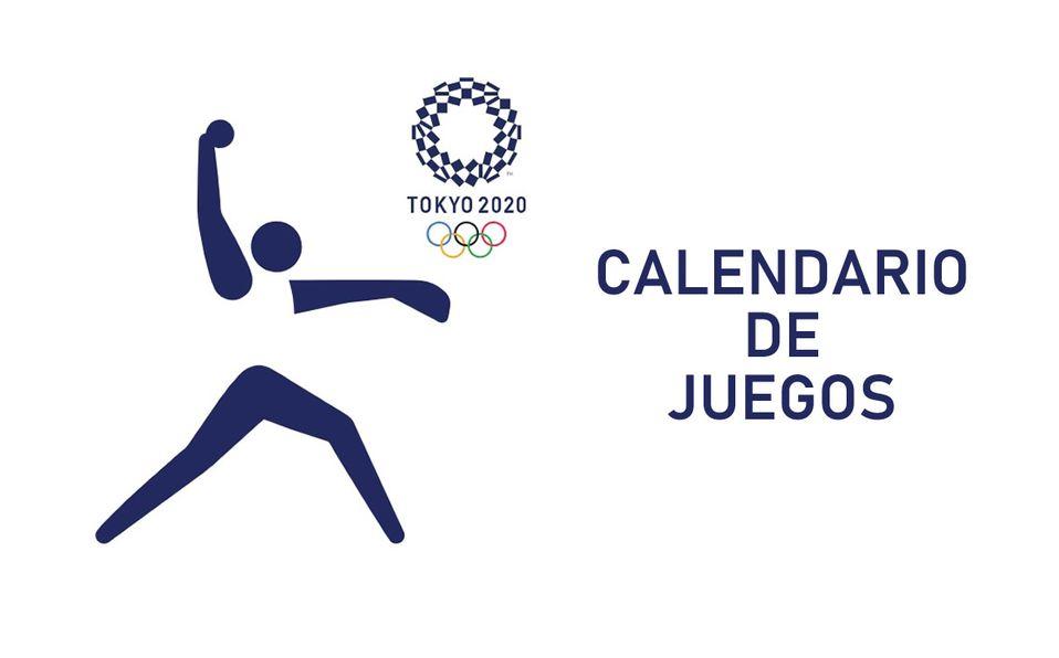 Calendario de juegos de softbol de los Juegos Olímpicos 2021
