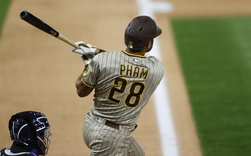En 2020, Pham jugó su primera temporada con los Padres. (Foto: AP)