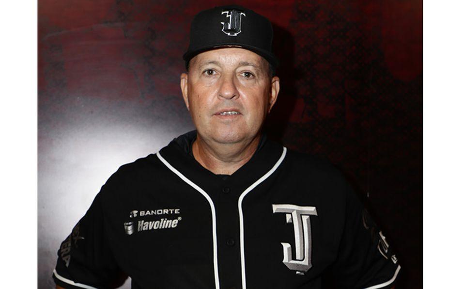 Homar Rojas es el manager de los Toros de Tijuana. Foto: Toros