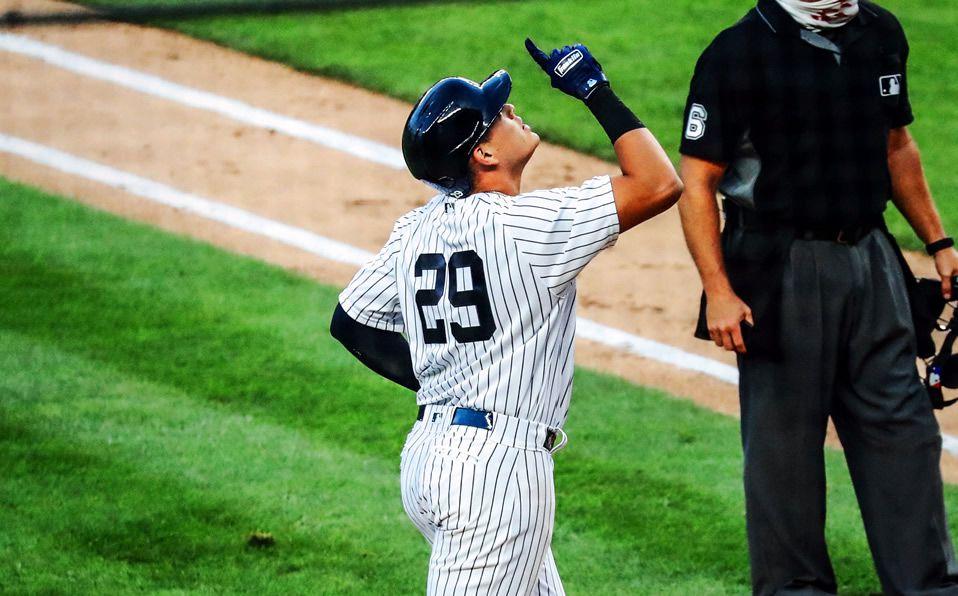 Urshela pegó su primer Grand Slam con los Yankees. (Foto: @Yankees)