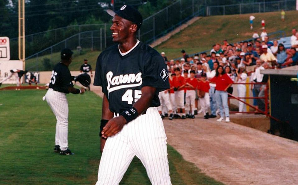 Cuando Michael Jordan jugó beisbol