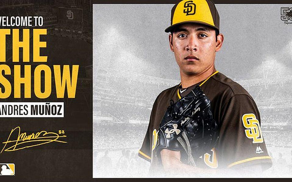 Quién es Andrés Muñoz, relevista mexicanos de los San Diego Padres