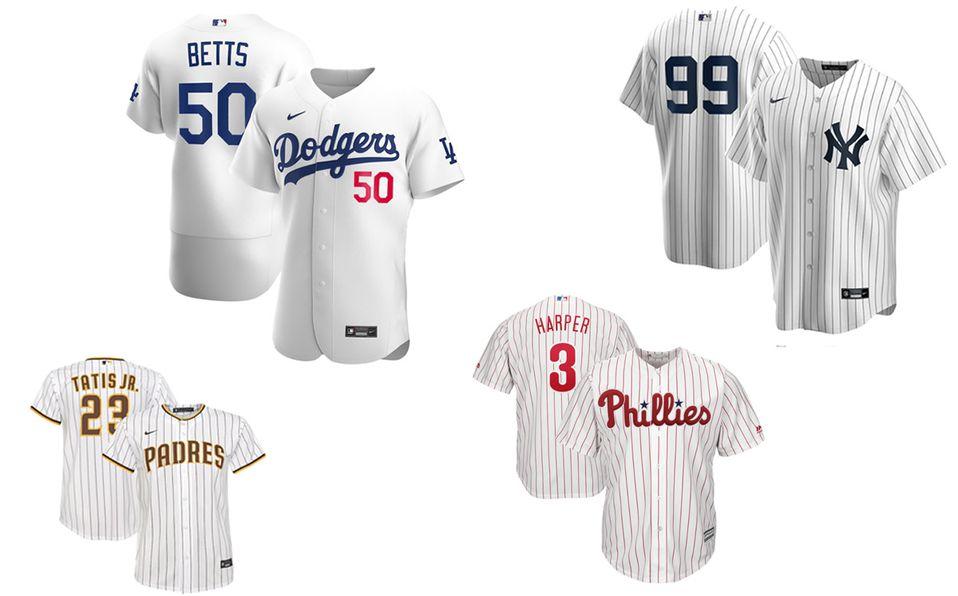 MLB presentó la lista de los jerseys más vendidos desde la Serie Mundial. Foto: Especial