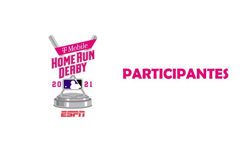 ¡PURO PODER! Los participantes del Home Run Derby 2021
