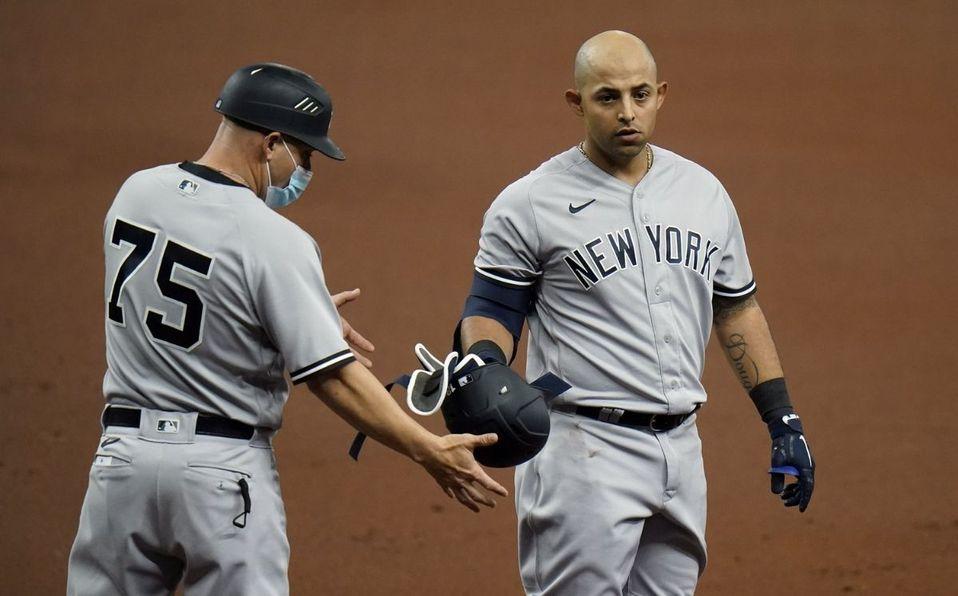 MLB Resultados: Yankees vence a Rays con el primer hit de Rougned Odor -  Séptima Entrada