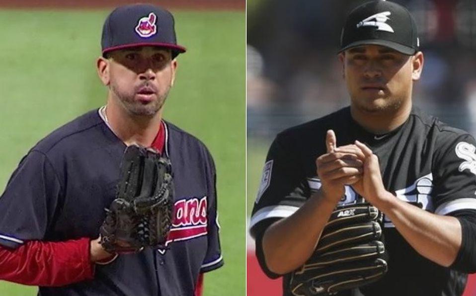 Manuel Bañuelos y Oliver Pérez realizarán labores  de relevo con Chicago y Cleveland. Foto: Especial