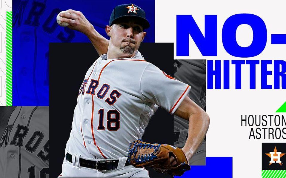 Este es el juego sin hit ni carrera número 12 en la historia de los Astros. (Foto: @MLB)