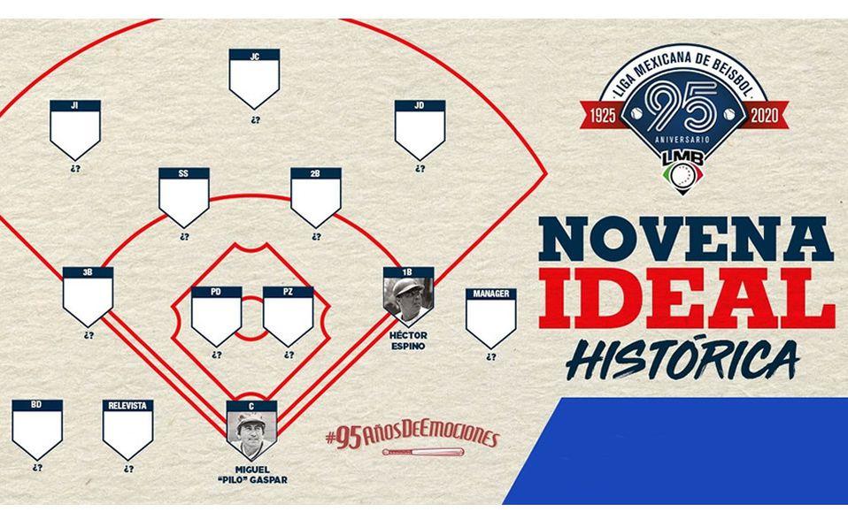 NOVENA IDEAL LMB: Héctor Espino es el mejor primera base