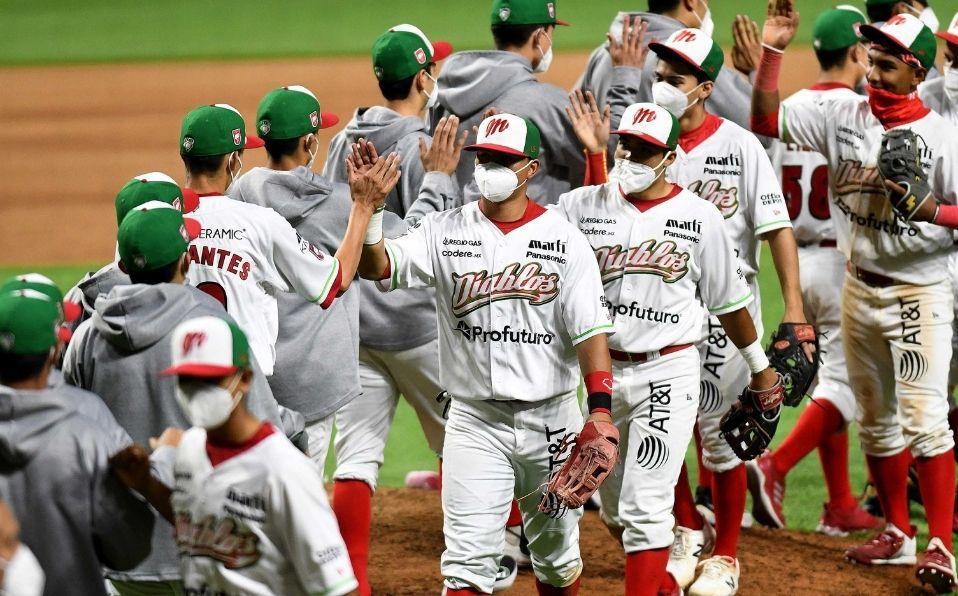 El team 'Borregos' consiguió su primer triunfo de la copa. (Foto: Enrique Gutiérrez/Diablos Rojos)