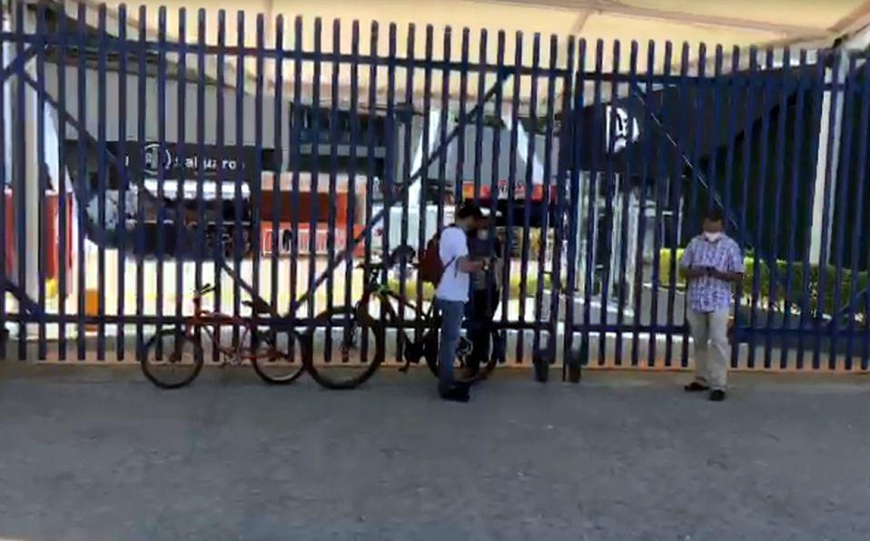 Imagen de la entrada al Estadio Panamericano en Guadalajara. Foto: Especial