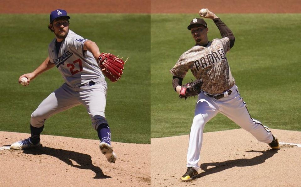 Ambos lanzadores se enfrentaron en el juego del domingo. (Fotos: AP)