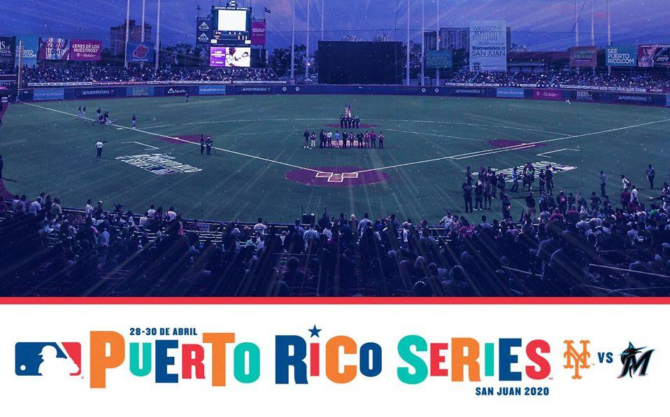 En 2018 MLB visitó por última vez San Juan, Puerto Rico, con Indians y Twins. (Foto: @MLBPuertoRico)