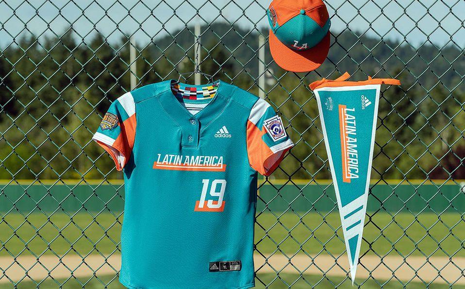 Jersey del equipo representante de Latinoamérica para la Serie Mundial de Ligas Pequeñas. Foto: Adidas