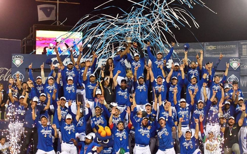 Los Acereros de Monclova consiguieron su primer título en la temporada 2019. (Acereros)