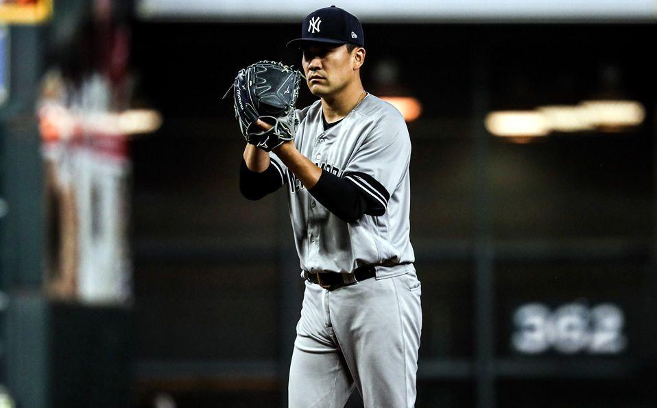 El japonés ahora tiene la tercera mejor efectividad en la historia de la postemporada. (Foto: @Yankees_Beisbol)