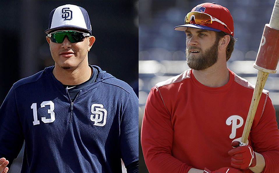 Comparación entre Manny Machado y Bryce Harper