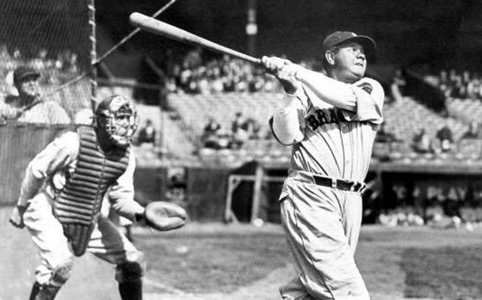 """A pesar de alcanzar la fama con los Yankees, """"El bambino"""" se retiró con los Braves."""