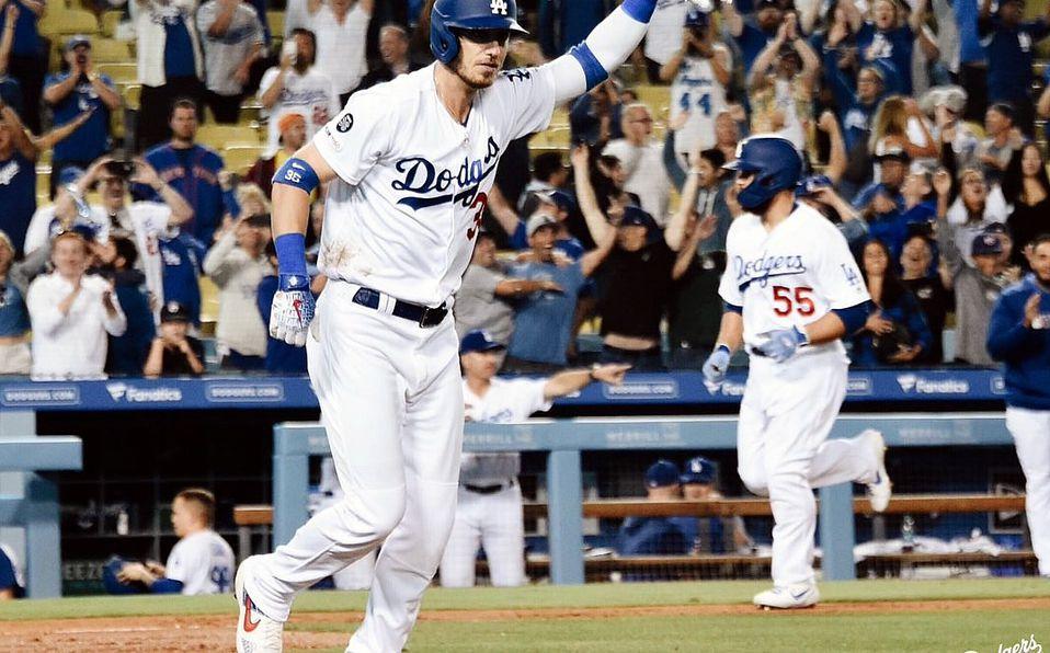 Cinco bases por bolas al hilo... y Dodgers gana