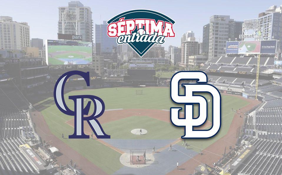 MLB TV en Vivo: Rockies vs Padres