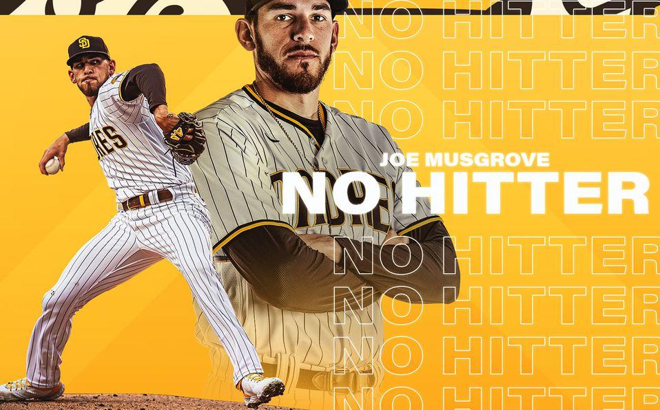 Joe Musgrove tira el primer sin hit ni carrera de Padres. Foto: Padres