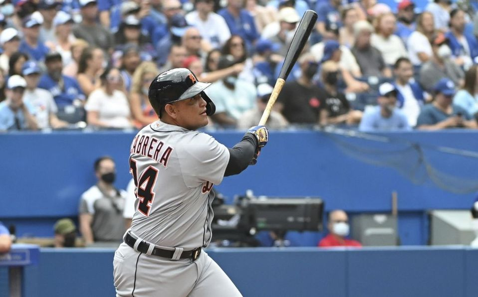 Miguel Cabrera es el primer venezolano en pegar 500 home runs en la MLB. (AP)