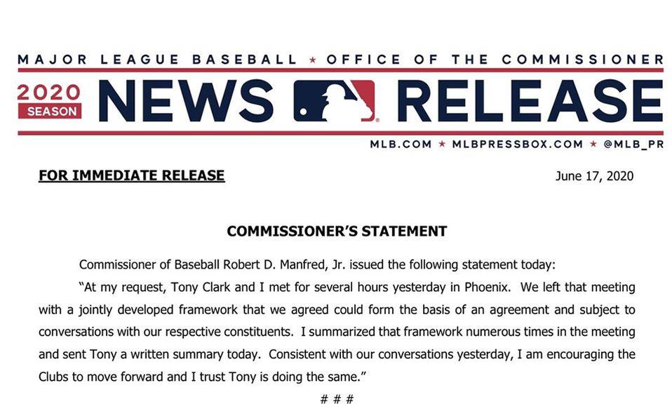 Comisionado confirma punto en el que están las negociaciones