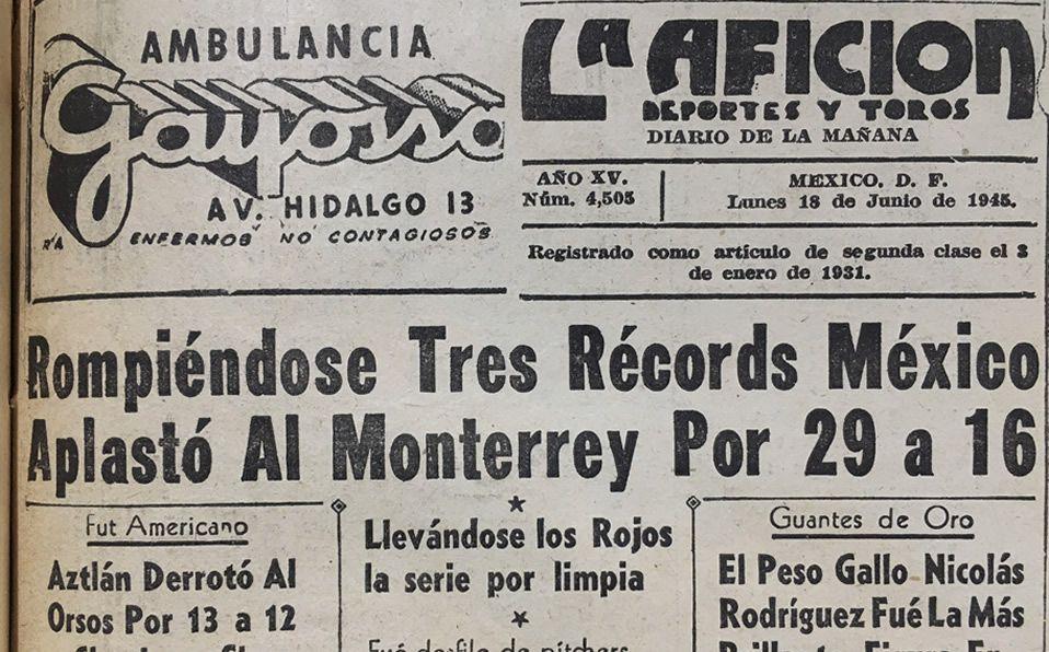 LMB. El juego con más carreras anotadas: Diablos Rojos 29-17 Monterrey