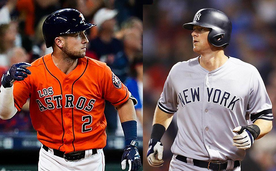 La pelea entre Astros y Yankees por ser el #1 de la Liga Americana