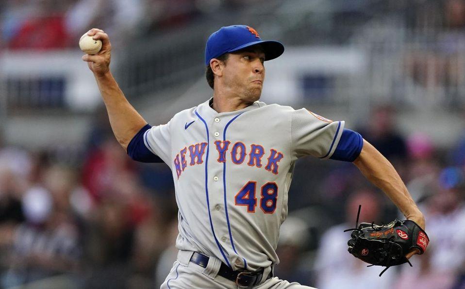 Jacob deGrom fue elegido a su cuarta edición del All-Star Game en la MLB. (AP)