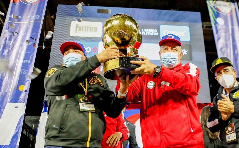 Dominicana se coronó con su campeonato 21 en la historia de la Serie del Caribe. (Foto: CBPC)