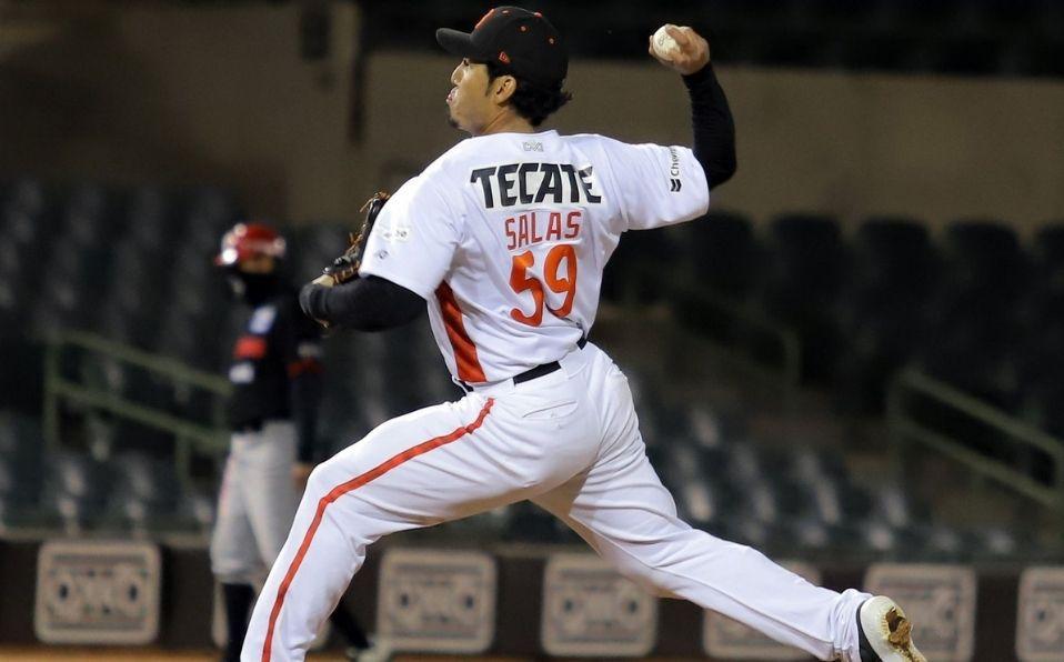Fernando Salas cerró el juego con su primer rescate en esta postemporada. (Foto: LMP.mx)