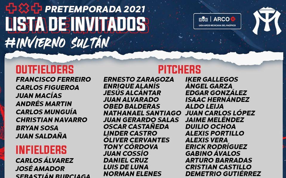LMP: Sultanes de Monterrey presenta lista de invitados a pretemporada