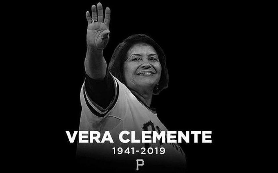 Fallece Vera Clemente, esposa del legendario Roberto Clemente