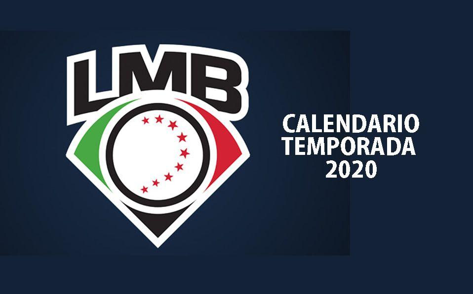 El calendario 2020 de la Liga Mexicana de Beisbol