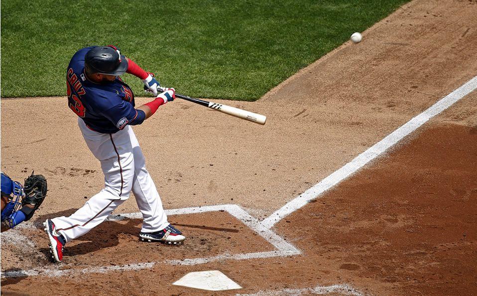 Cruz pegó un tablazo de 448 pies. (Foto: AP)