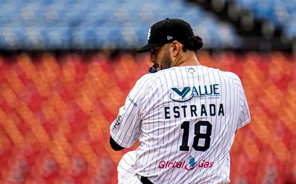 Jesse Estrada lanzó 6.1 entradas en las que no admitió carrera. Foto: Mariachis