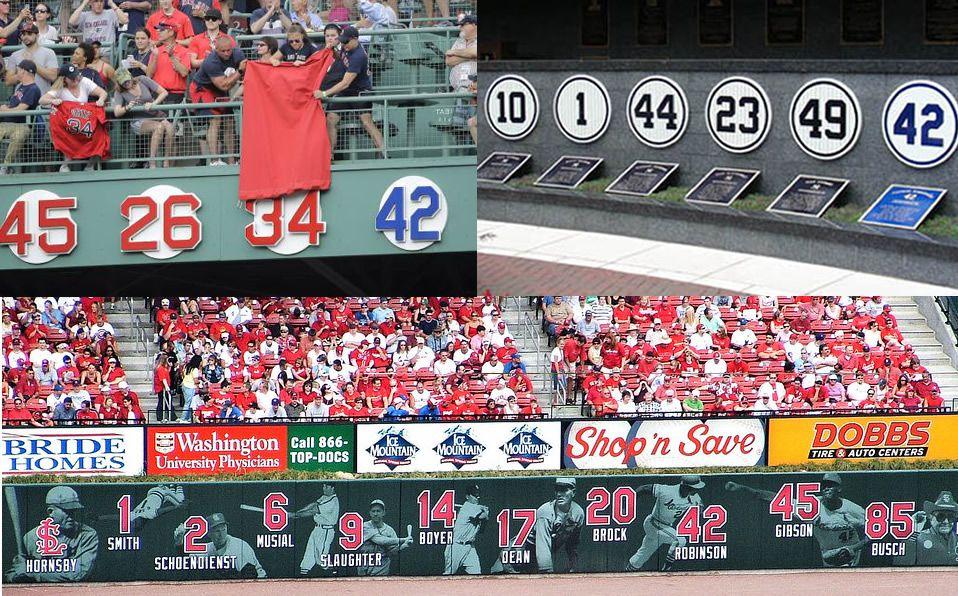 ¿Cuál es el número que más equipos de MLB han retirado?