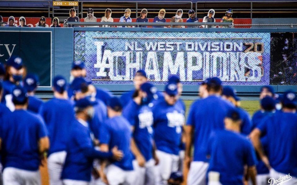 Dodgers tiene el mejor récord de la temporada en Grandes Ligas. (Foto: @Dodgers)
