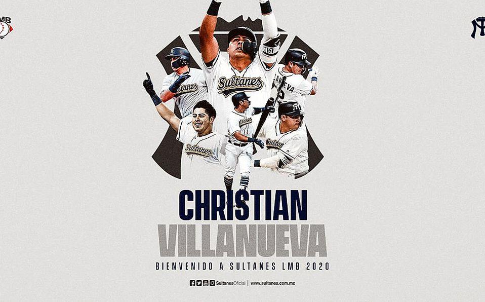 Christian Villanueva jugará con Sultanes en 2020